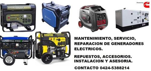 servicio técnico mantenimiento e instalación de generadores