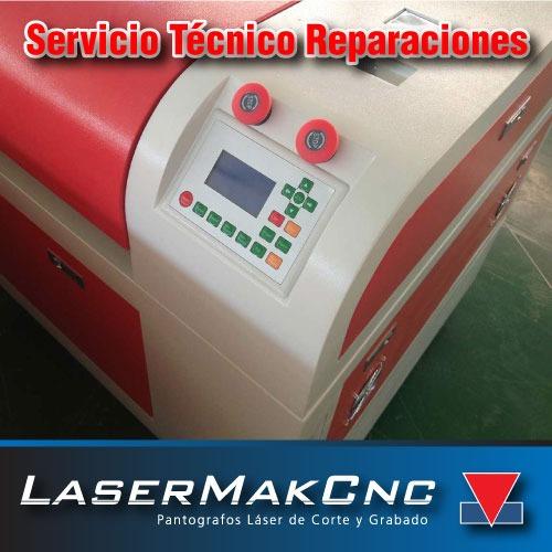 servicio técnico maquina pantografo laser de corte grabado