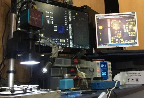 servicio tecnico microsoldadura iphone 7 codec de audio