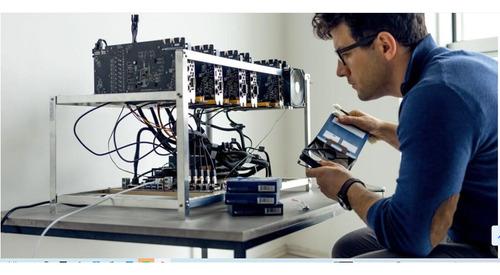 servicio tecnico mineria tarjetas de video, rigs mineria