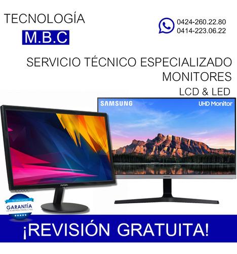 servicio tecnico monitores hp dell lenovo samsung aoc acer