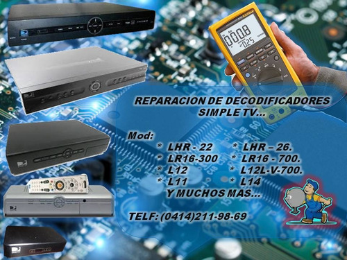 servicio técnico movistar tv simple inter reparación decodif