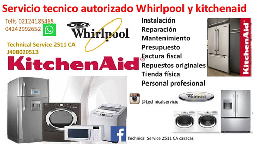servicio técnico nevera kitchenaid whirlpool sub zero