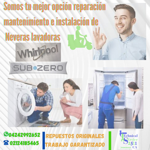 servicio técnico nevera lavadoa secadora mabe whirlpool
