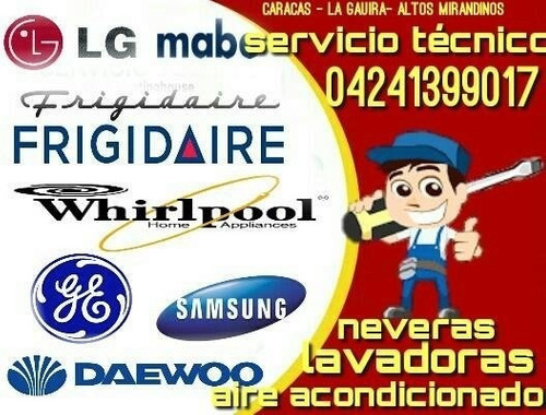 servicio técnico nevera lavadora maytag sub zero daewoo lg
