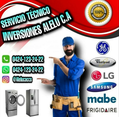 servicio técnico nevera lavadoras general electric whirlpool