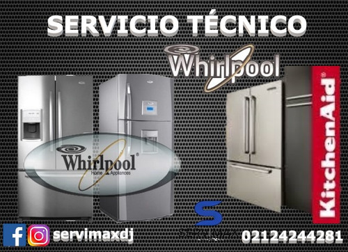 servicio tecnico nevera lavadoras whirlpool secadora