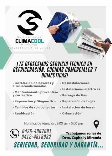 servicio tecnico neveras aires cocina y lavadora