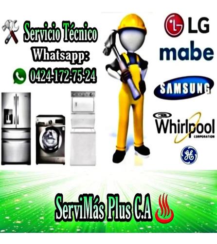 servicio técnico neveras lavadoras mabe lg samsung whirlpool