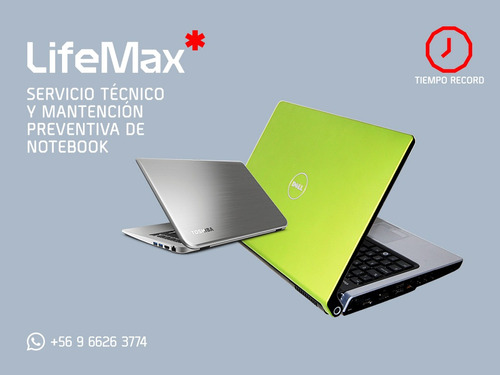 servicio tecnico notebook laptop hp asus samsung lenovo dell