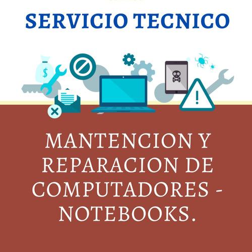 servicio tecnico notebooks