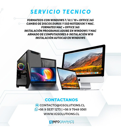 servicio técnico notebooks,