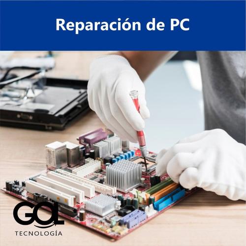 servicio técnico notebooks pc reparación instalación windows