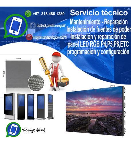 servicio técnico pantallas led gigantes