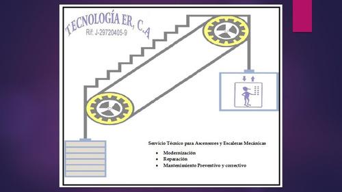 servicio técnico para ascensores y escaleras mecánicas