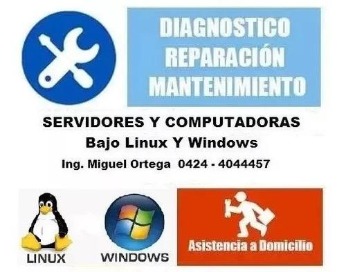 servicio técnico para computadoras y servidores