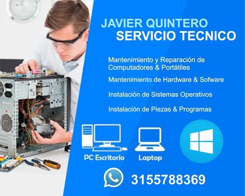 servicio técnico para computadores, portátiles y cctv