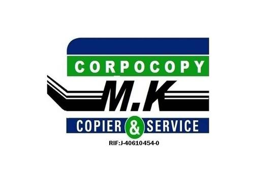 servicio tecnico para copiadoras ricoh, savin, lanier.