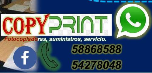servicio tecnico para fotocopiadoras.