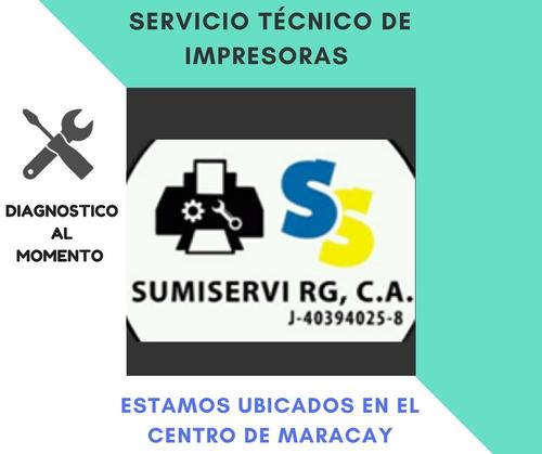 servicio técnico para impresora (centro de maracay)