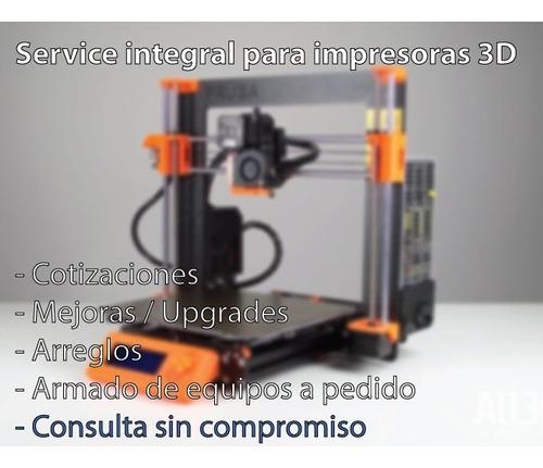 servicio técnico para impresoras 3d. zona norte