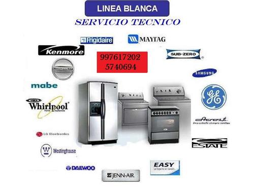 servicio tecnico para lavadoras y secadoras//full marcas
