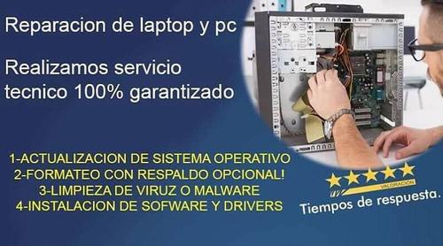 servicio tecnico para pc a domicilio y soporte tecnico