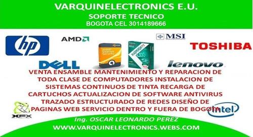 servicio técnico para pc de escritorio y portátiles