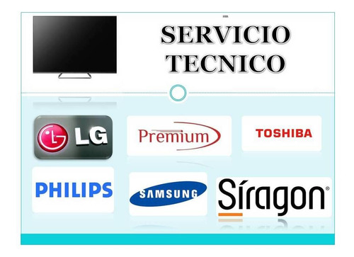 servicio técnico para tv lcd,led,monitores de pc, decos
