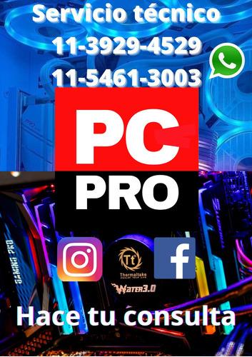 servicio tecnico pc, armado pc gamer service pc, notebook.