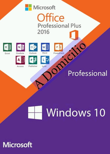 servicio técnico pc domicilio windows 10 todos office 2016 +