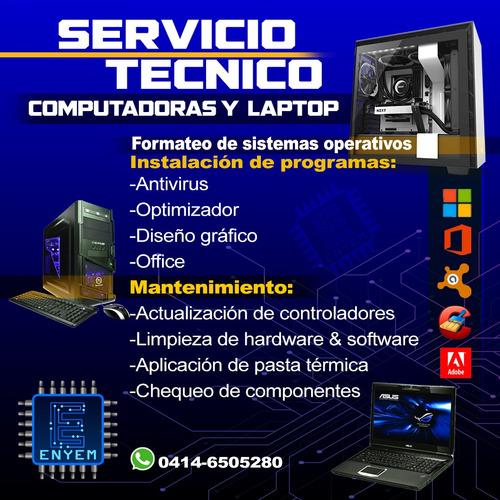 servicio técnico pc & laptop