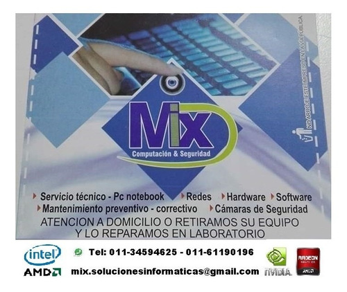 servicio técnico pc - notebook
