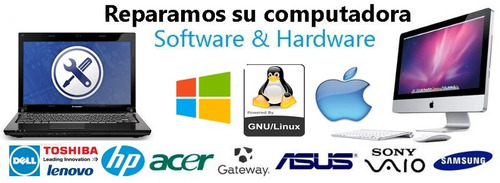 servicio técnico pc notebook netbook all in one