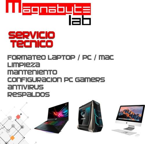 servicio técnico pc / software vía remoto