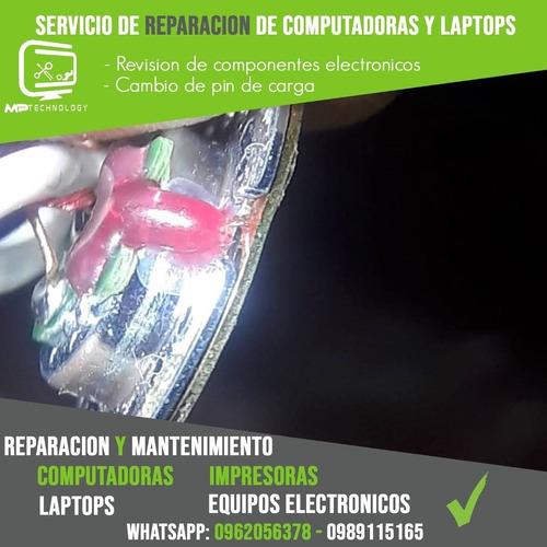 servicio tecnico pc y laptops
