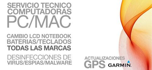 servicio técnico pc y mac, notebooks, pilar/escobar