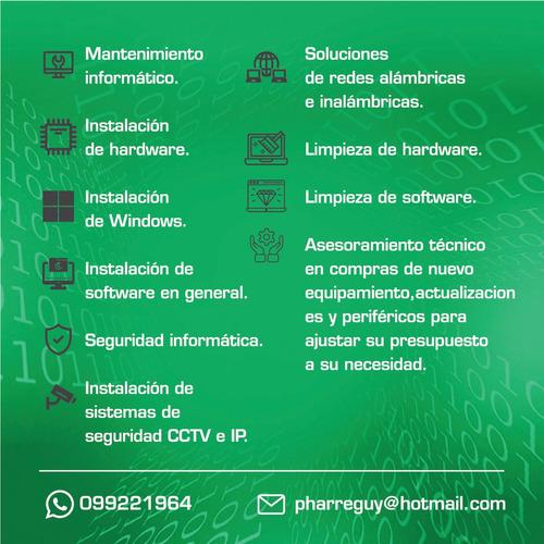servicio técnico pc y redes