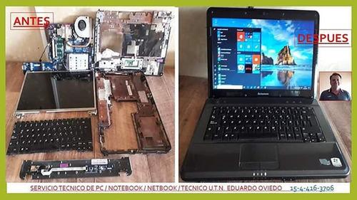 servicio técnico pc/notebook/netbook/all in one/capital