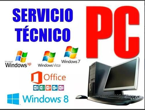 servicio técnico pc,redes,impresoras fiscales,camaras