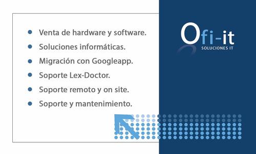 servicio tecnico pcs servidores redes windows y lexdoctor