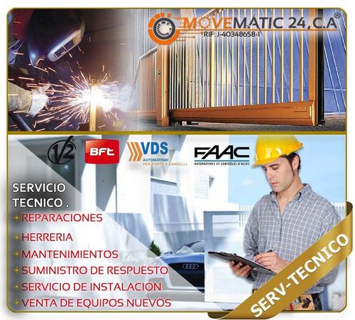 servicio tecnico porton electrico (vds,dkc,bft,magne,krom,+)