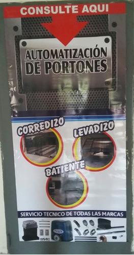 servicio tecnico portones automaticos