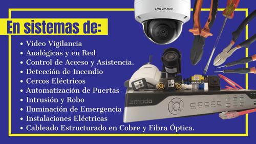 servicio técnico, portones, cámaras, incendio, cercos, redes