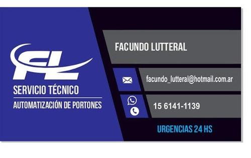 servicio tecnico portones urgencias instalacion reparacion