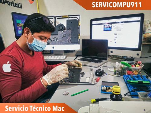 servicio técnico profesional apple mac mini imac macbook