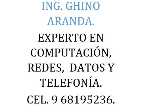 servicio técnico profesional en computación,celular y redes.
