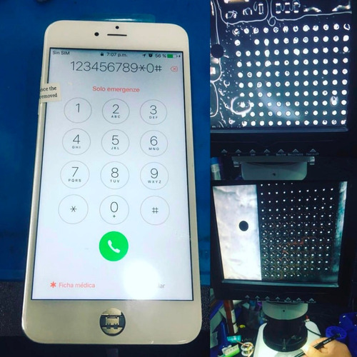 servicio tecnico profesional para iphone samsung huawei ic