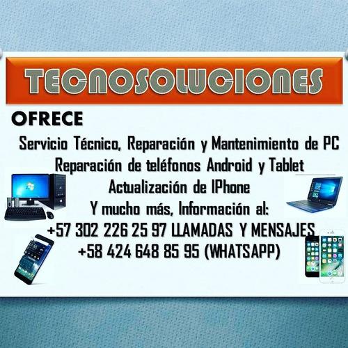 servicio técnico profesional y especializado