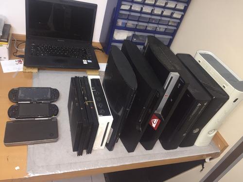 servicio tecnico ps1,ps2,ps3,ps4.. xbox, nintendo, reballing